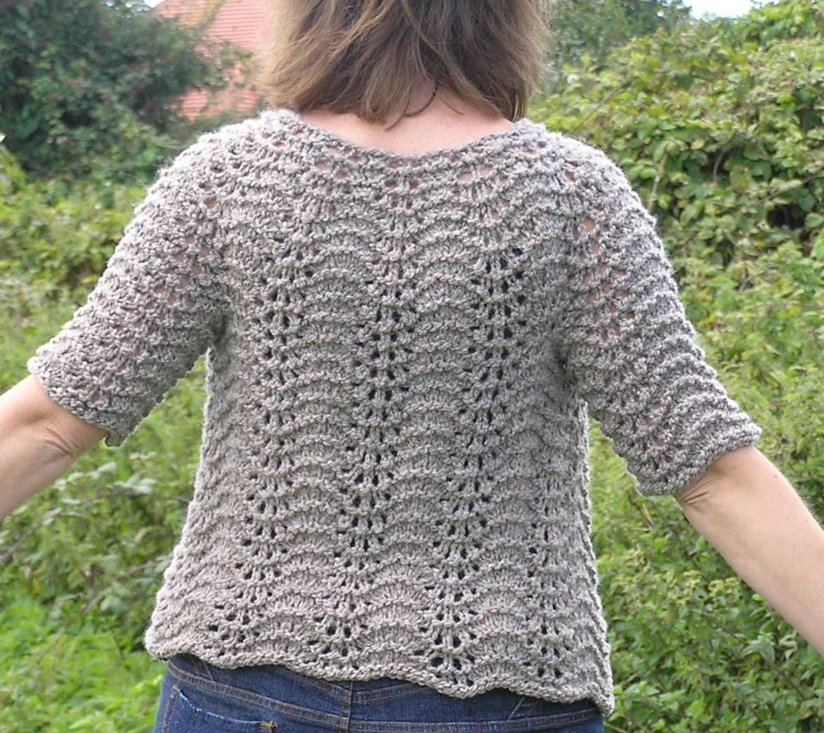 Feather Knitting Pattern : Ysolda Teague Spinstar Creations