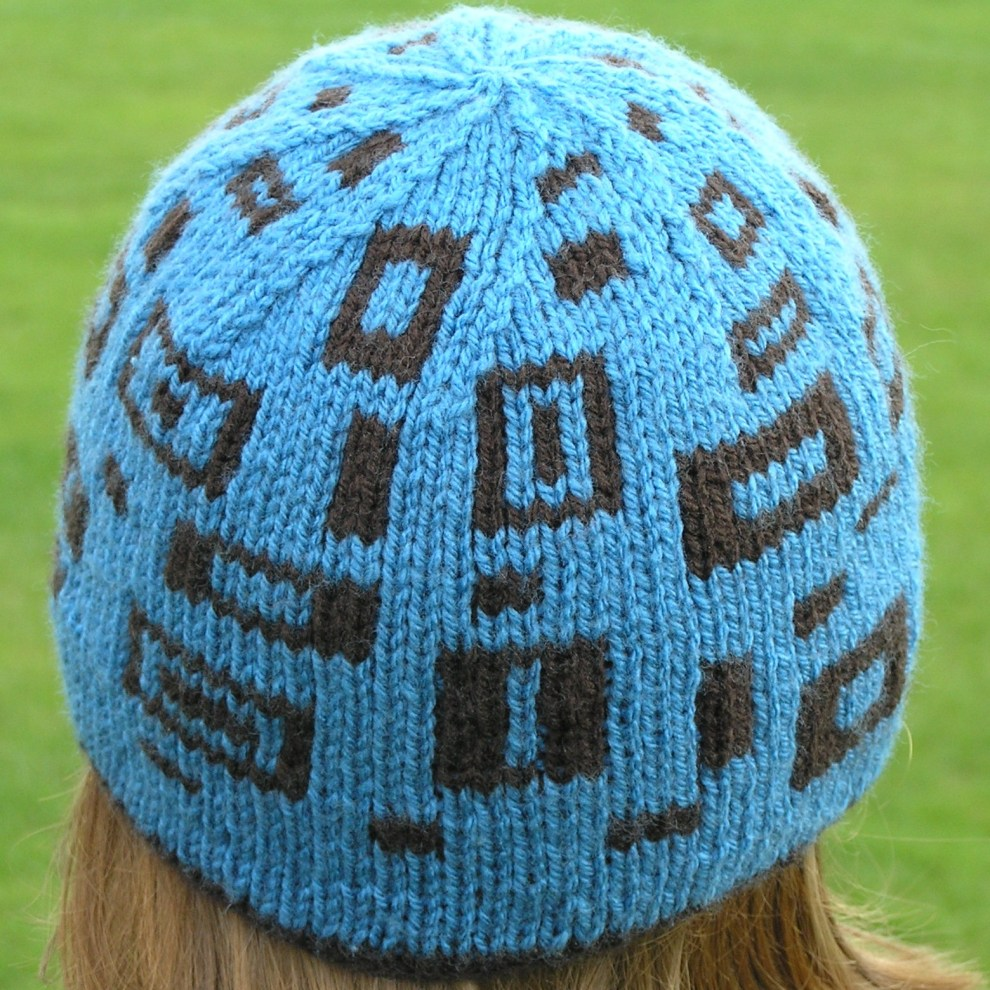 Rectangly Hat - Blue