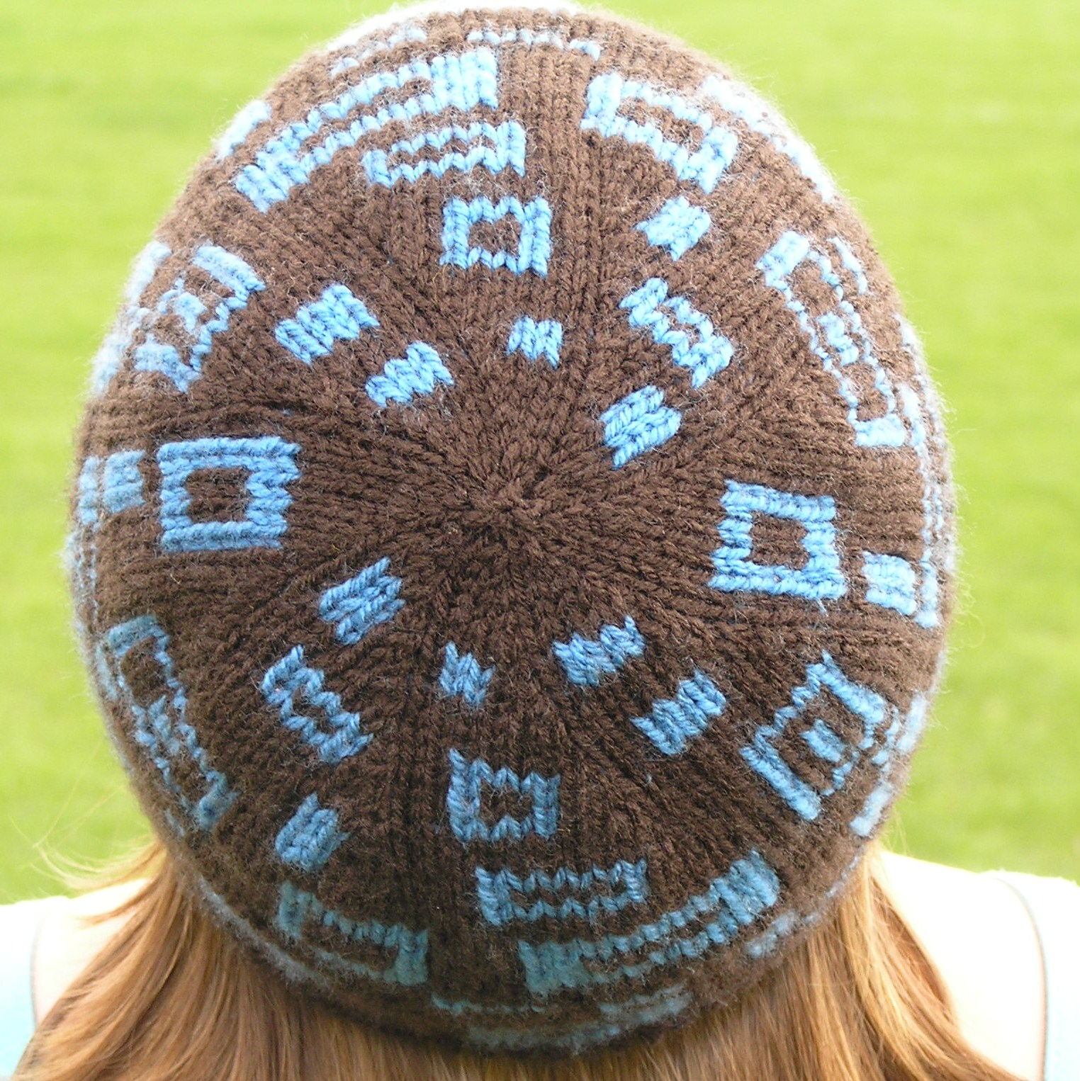 Hat Knitting Patterns : hat involves a technique called double knitting basically knitting ...
