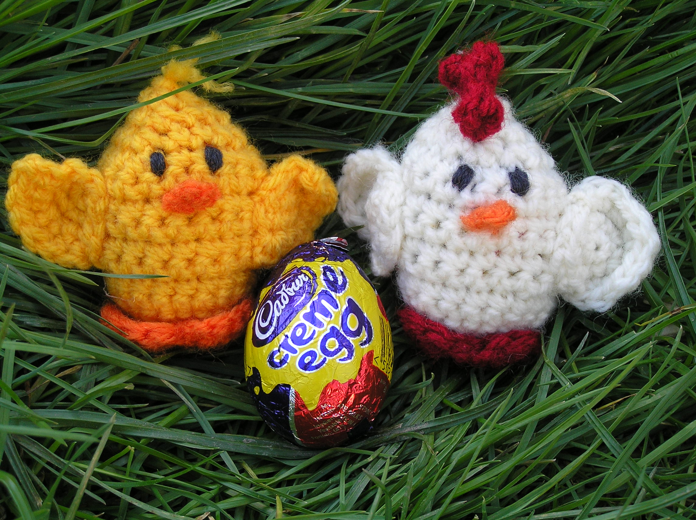 Free Crochet Pattern – Creme Egg Creatures | Spinstar Creations
