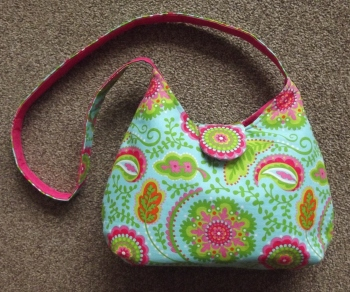 bright handbag complete