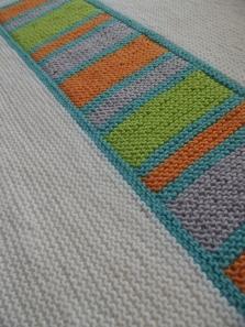 Colour Splash Baby Blanket