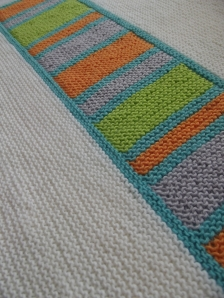 Colour Splash Baby Blanket