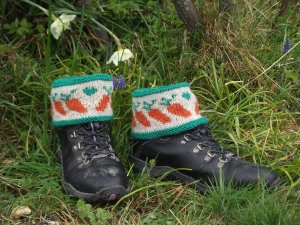 Carrot Boot Toppers - for self pub pattern