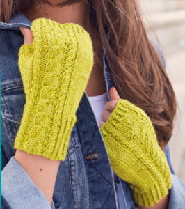 Harbour View Mitts Knit Now Photo